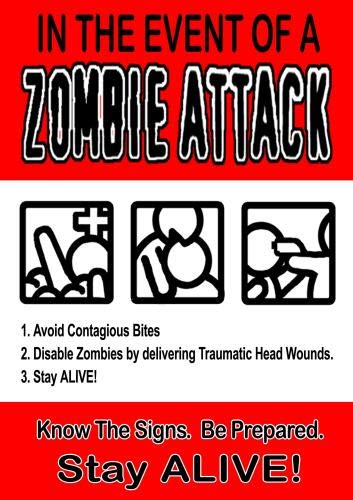 In The Event Of A ZOMBIE ATTACK!