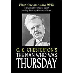 The Man Who Was Thursday, by G.K. Chesterton [DVD Audio / Audiobook]
