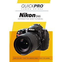 Nikon D90 Instructional DVD by QuickPro