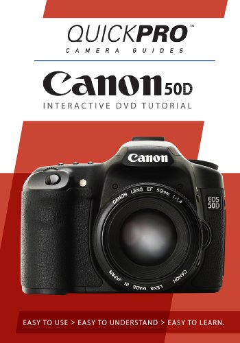 Canon 50D Instructional DVD by QuickPro