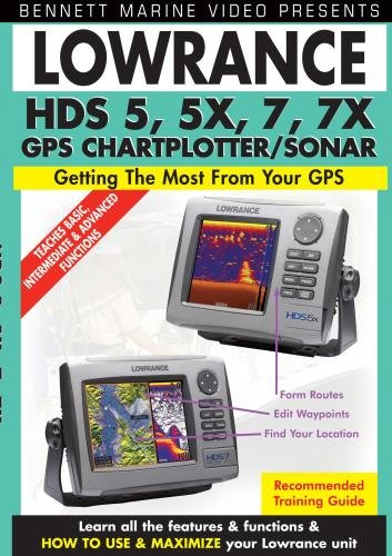 Lowrance HDS 5, 5x, 7, 7x, Chartplotter/Fishfinder