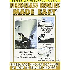 Fiberglass Repair 1 and 2 (How to Repair Gelcoat and Gelcoat Damage)