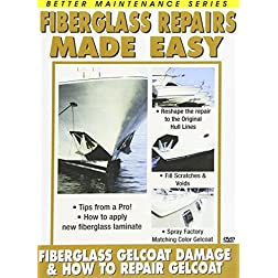 Fiberglass Repair 1 and 2 (How to Repair Gelcoat and Gelcoat Damage)
