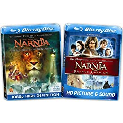 The Chronicles of Narnia Blu-ray Bundle (Amazon Exclusive) [Blu-ray]