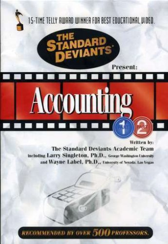 Standard Deviants Accounting 2 Pack