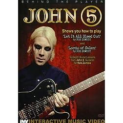 Johnn 5: Behind the Player - Guitar Edition, Vol. 2