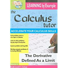 The Derivative Defined as a Limit