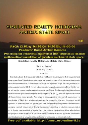 Relativistic medium from unified energy vector