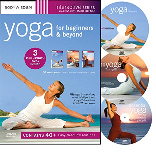 Yoga For Beginners (3 DVD Box Set)
