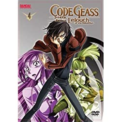 Code Geass Leouch of the Rebellion: Season 1, Vol. 4