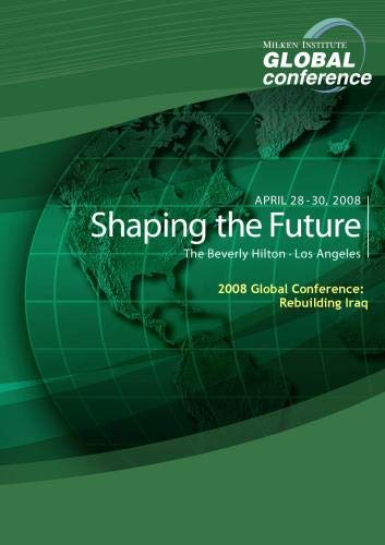2008 Global Conference: Rebuilding Iraq