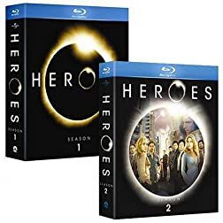 Amazon.com Exclusive: Heroes Blu-ray Franchise Collection (Season 1 