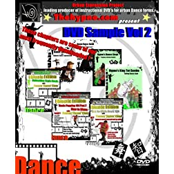DVD Sample Vol-2 - popping locking dance level 1 to 3