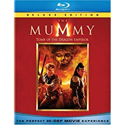The Mummy: Tomb of the Dragon Emperor  [Blu-ray]