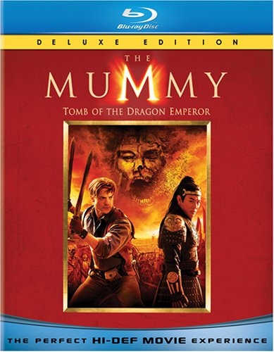 The Mummy: Tomb of the Dragon Emperor (Deluxe Edition) [Blu-ray]