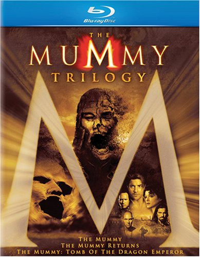 The Mummy Trilogy (The Mummy / The Mummy Returns / The Mummy: Tomb Of The Dragon Emperor) [Blu-ray]