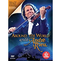 Around The World with Andre Rieu (3 DVD)