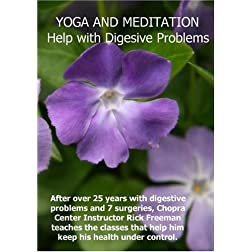 Yoga and Meditation for Digestive Problems