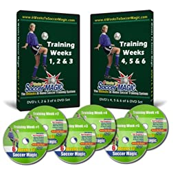6 Weeks To Soccer Magic 6-DVD Home Soccer Training System
