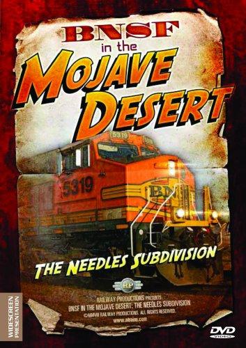 American Trains-BNSF in the Mojave Desert