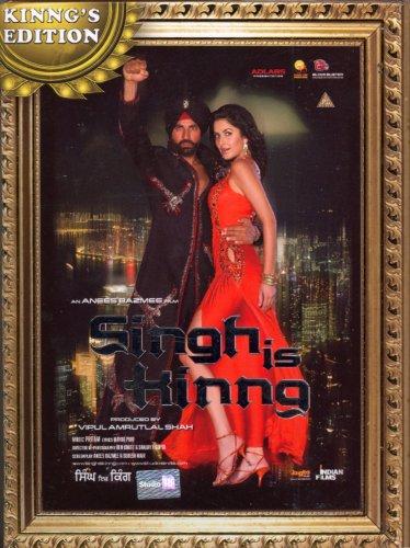 Singh Is Kinng - DVD (2008) - Akshay Kumar