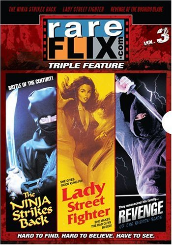 Rareflix Triple Feature Volume 3 (Revenge of the Bushido Blade, Bruce Le Fights Back and Lady Street Fighter)
