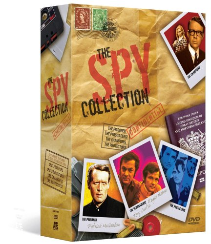 The Spy Collection Megaset (The Prisoner / The Persuaders / The Champions / The Protectors)