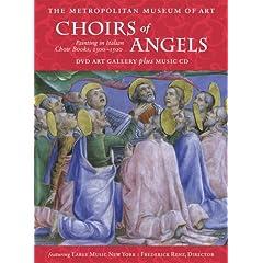 Choirs of Angels: Paintings in Italian Choir Books, 1300-1500 (DVD Art Gallery plus Music CD)
