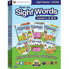 Meet the Sight Words Box Set (Meet the Sight Words 1, Meet the Sight Words 2, Meet the Sight Words 3)