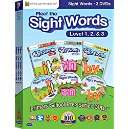 Meet the Sight Words Box Set (Meet the Sight Words 1, Meet the Sight Words 2, Meet the Sight Words 3)