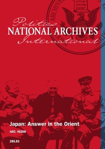 Japan: Answer in the Orient