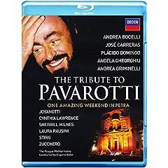 The Tribute to Pavarotti [Blu-ray]