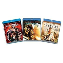 War and Politics BD 3-pk Action Bundle [Blu-ray]