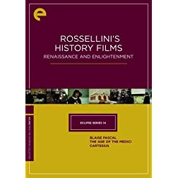 Rossellini's History Films: Renaissance and Enlightenment - Eclipse Series 14