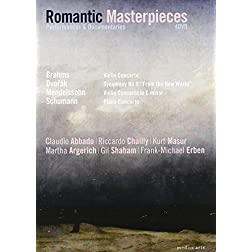 Romantic Masterpieces: Performances and Documentaries (Brahms, Mendelssohn, Dvorak, Schumann)