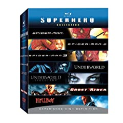 Amazon.com-Exclusive Superhero Blu-ray Collection [Blu-ray]