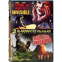 DPM - El Hombre Que Logro Ser Invisible & La Isla De Los Dinosaurios
