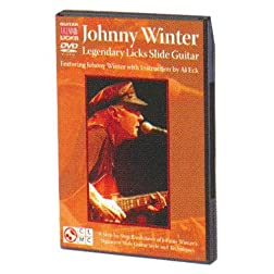 Johnny Winter Legendary Licks Slide Guitar DVD
