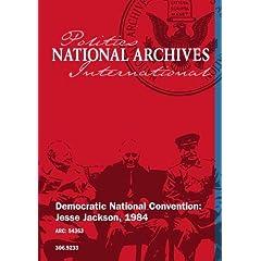 Democratic National Convention: Jesse Jackson, 1984