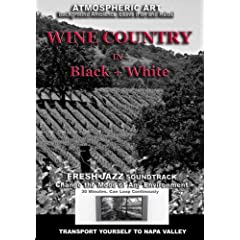 Wine Country in Black and White