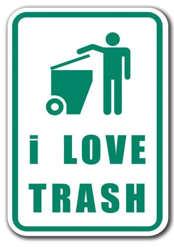 i Love Trash