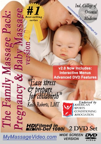 The New Family Massage Pack: Pregnancy Massage & Baby Massage v2.0 2 DVD set
