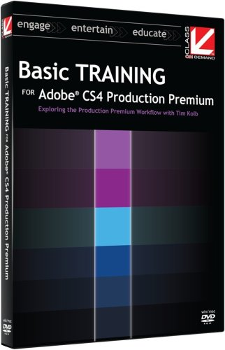 Class on Demand: Basic Training for Adobe CS4 Production Premium DVD-ROM : Adobe Educational Training Tutorial DVD for Adobe CS4 Production Premium [Interactive DVD]