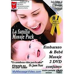 La familia Masaje Pack: Embarazo & Baby Masaje 2 DVD conjunto