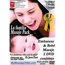 La familia Masaje Pack: Embarazo & Baby Masaje 2 DVD conjunto