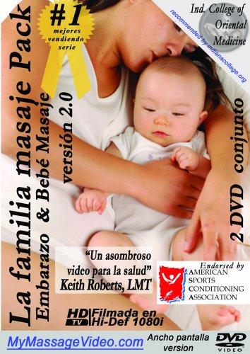 La familia Masaje Pack: Embarazo & Baby Masaje 2 DVD conjunto version 2.0