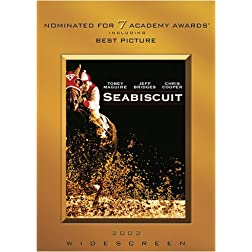 Movie Cash - Seabiscuit (Widescreen)