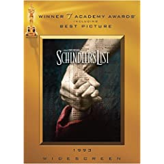 Movie Cash - Schindler's List (Widescreen)
