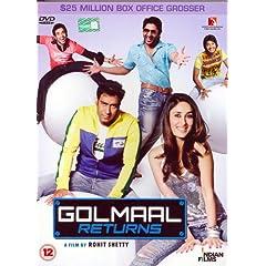 Golmaal Returns (DVD)