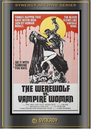Werewolf Vs Vampire Woman